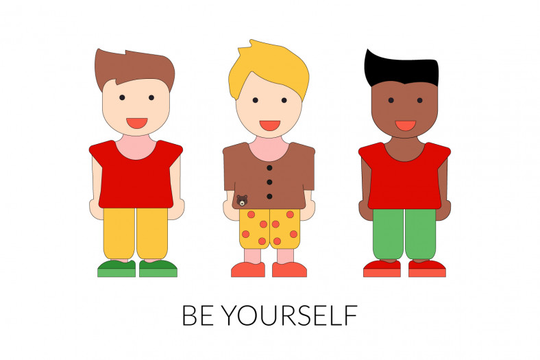 Personal pronouns: Be yourself