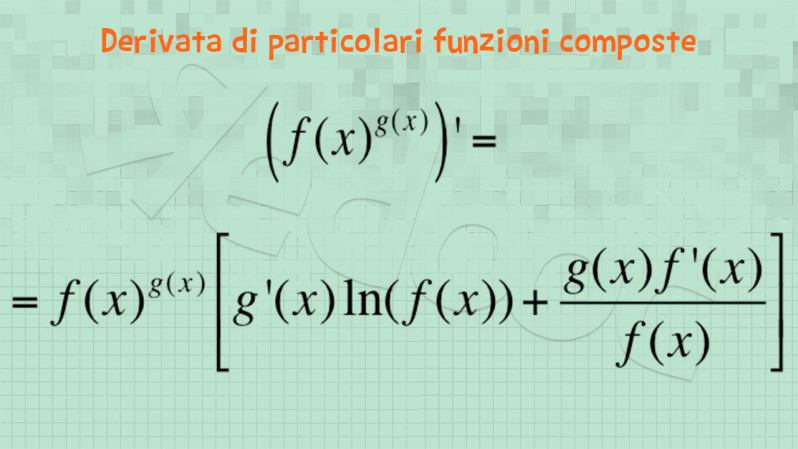calcolo derivate