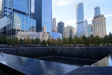 New World Trade Center con memoriale per le vittime dell'11 settembre 2001