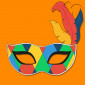 Learn on Redooc the Carnival vocabulary in English, download our worksheets and prepare for the parade with colouring Carnival masks!